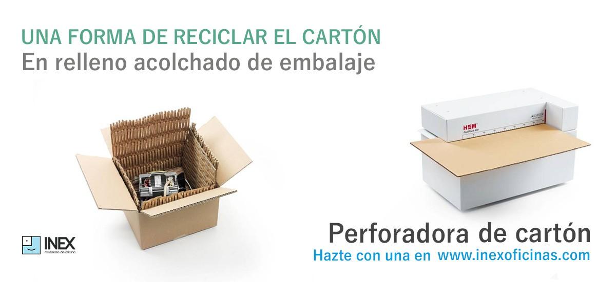 Perforadora de cartón