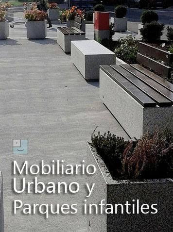 Mobiliario urbano y parques infantiles